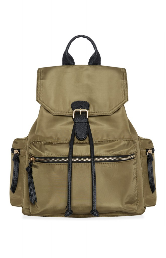 Nylon Back Pack Khaki, Ôé¼14,$18